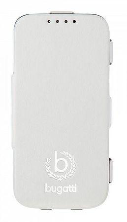 Bugatti zaščitna torbica BCG-SA-Samsung S5, bela