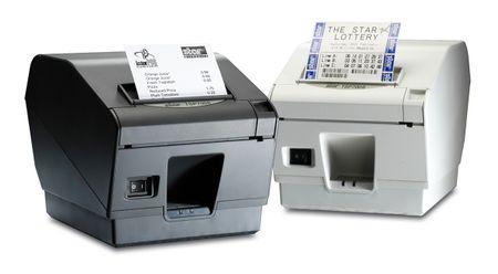Star termalni tiskalnik TSP-743IIU črn z nožem