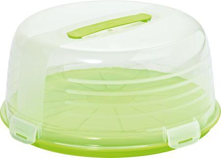 Curver škatla za torto Chef Zelena - Odprta embalaža
