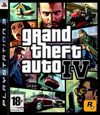 Take 2 Grand Theft Auto IV Platinum PS3