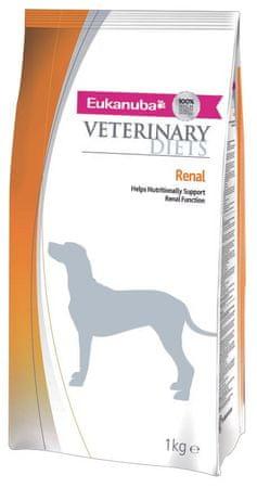 Eukanuba sucha karma dla psa VD Renal Phase 1 Formula - 1kg.