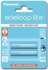 Panasonic baterije Eneloop Lite AAA (2 kom)