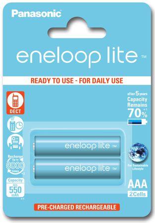 PANASONIC Eneloop Lite 550mAh AAA akkumulátor