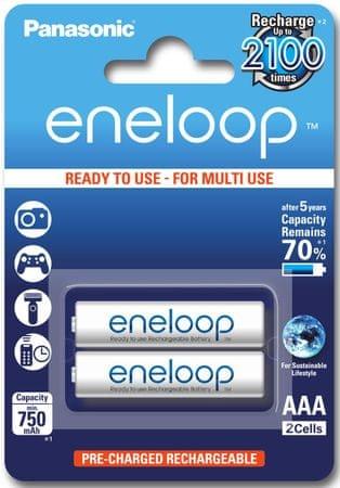 Panasonic Eneloop polnilne baterije 750 mAh AAA