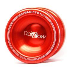 Teddies Jojo T6 - Rainbow 5x4cm hliník/kov červená