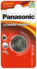 Panasonic baterija CR2430 3V Lithium