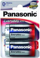Panasonic baterija Everyday Power Silver LR20EPS/2BP, 2 kosa
