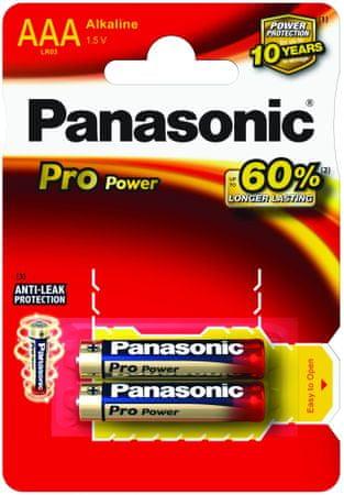 Panasonic baterija Pro Power Gold LR03PPG/2BP, 2 kosa