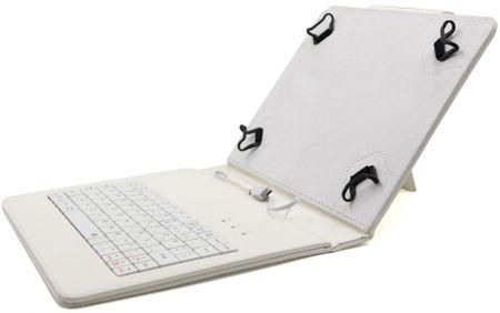 "C-Tech PROTECT Univerzális 8""-s tablet tok, Fehér"