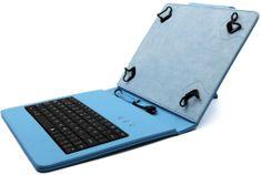 """C-Tech PROTECT puzdro univerzálne s klávesnicou pre 8"""" tablety, FlexGrip (NUTKC-02L) modrá"""