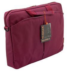 """S-box torba za prenosnik NLS-6483D 39,6 cm (15,6""""), bordo rdeča"""