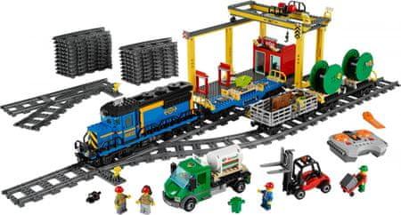 Lego City 60052 Pociąg Towarowy Mallpl