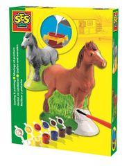 SES 3D Gipszkiöntő lovacska