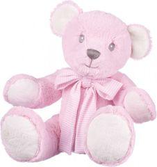 Suki Baby Hug-a-Boo medvedek ROZA 43 cm