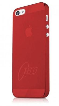 ITSKINS etui ZERO.3 + zaščita zaslona za iPhone 5S/5, APH5-ZERO3 Rdeča