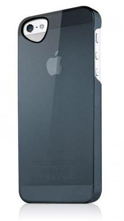 ITSKINS Ultra lahek etui GHOST + zaščita zaslona za iPhone 5S/5, APH5-TNGST Črna
