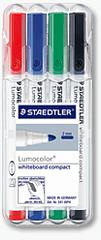 Staedtler Marker Whiteboard Lumocolor compact 4/1
