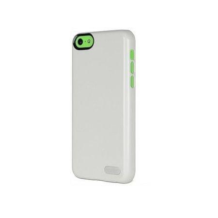 Cygnett Zaščitni svetleč etui FORM + zaščita zaslona za iPhone 5C Bela