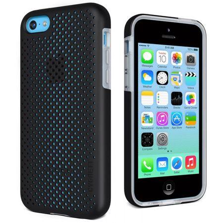 Cygnett Zaščitni etui z luknjicami PERMEATE za iPhone 5C Črna