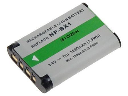 Avacom Akkumulátor, Sony NP-BX1, 1080mAh