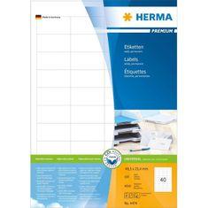 Herma etikete Premium 4474, 48,5 x 25,4 mm, 100 komada