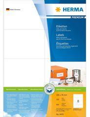 Herma etikete Premium 4470, 105 x 74 mm, 100 komada