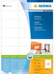 Herma etikete Premium 4453, 70 x 36 mm, 100 komada