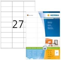 Herma etikete Premium 4450, 70 x 32 mm, 100 komada