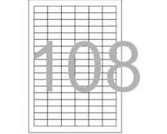 Optima etikete Laser 708, 30 x 15 mm