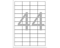 Optima Etikete Laser 48,5 x 25,4 mm/44