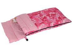 Bertoni vreća za spavanjeJunior Camo, dječja, ružičasta