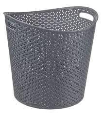 CURVER Kosz na pranie RATTAN 30 l - brązowy