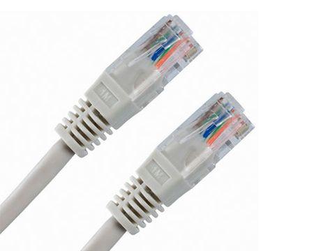 Digitus UTP mrežni kabel Cat5e patch, 1 m, siv