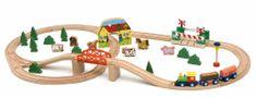 Woody vlak i željeznička pruga, 45 komada