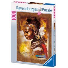 Ravensburger Afrikai szépség Puzzle 1000 db