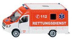 SIKU Záchranný automobil Mercedes Sprinter, 1:50