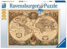 Ravensburger Történelmi térkép Puzzle, 5000 db