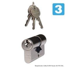 Richter Czech wkładka do zamka - EURO Secure 30/35 NI - 3 Klucze