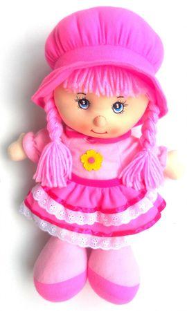 Mac Toys Bábika Anička ružová CZ