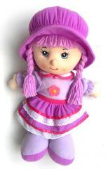 Mac Toys Bábika Anička fialová CZ