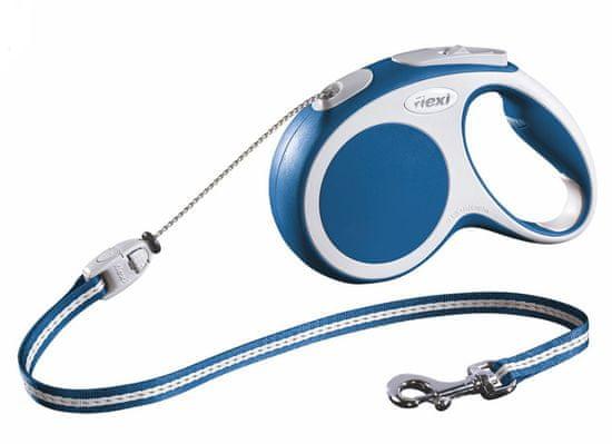 Flexi Vodítko Vario M lanko 5m/20kg modré