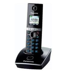 PANASONIC KX TG8051FXB DECT vezeték nélküli telefon, fekete