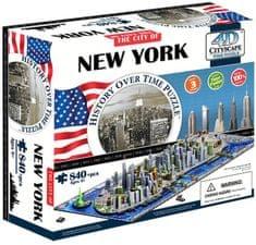 4D Cityscape Puzzle 4D Nowy Jork