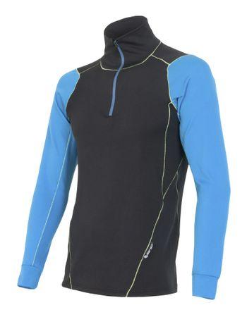 8a0757027b10 Sensor Thermo tričko pánske dlhý rukáv so zipsom čierna modrá XL ...