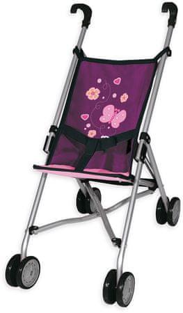 Bayer Design voziček za punčke Buggy, vijoličen
