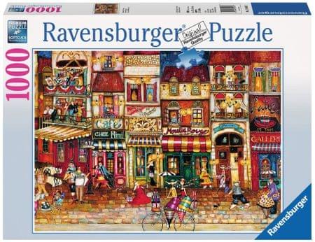Ravensburger Ulice Francie 1000 dílků