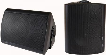 DLS vsevremenski zvočniki MB5i Črn
