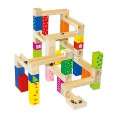 Bino lesena konstrukcija - steza, 66 kosov