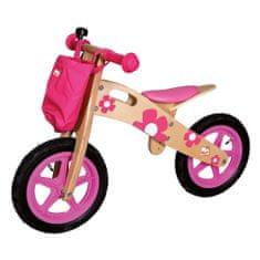 Bino Rowerek biegowy, różowy