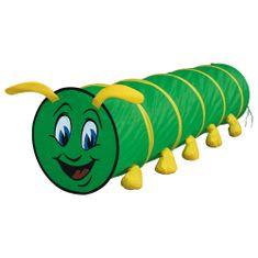 BINO Mászóalagút - zöld hernyó